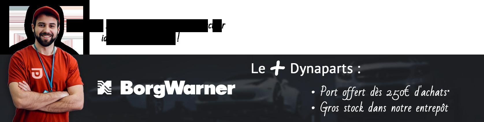 Bannière Borgwarner