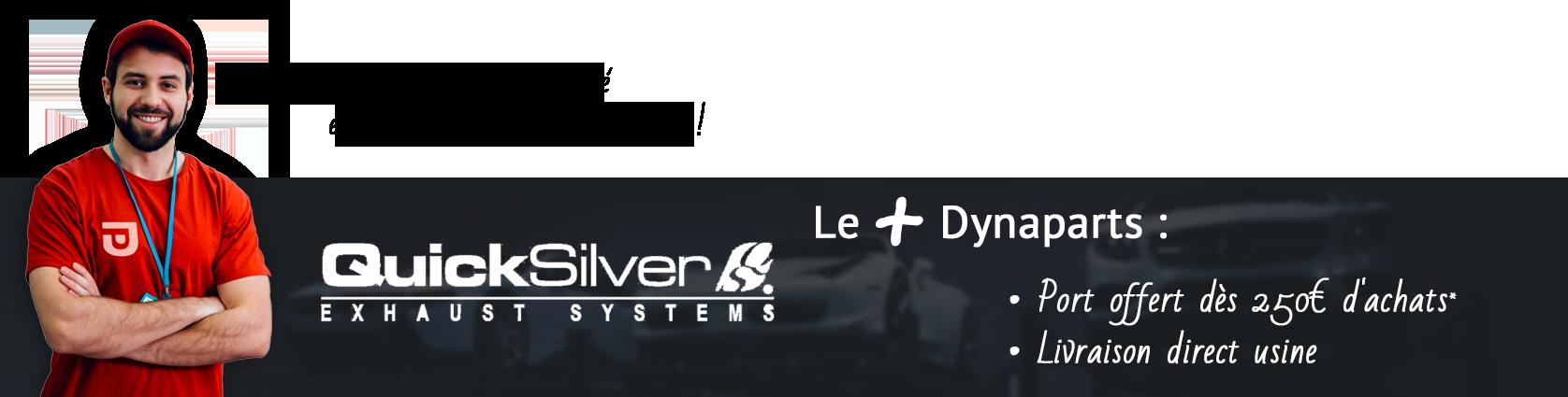 Bannière QuickSilver